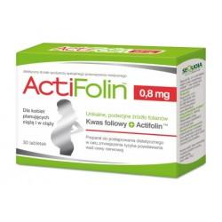 ActiFolin 0,8mg tabletki 30tabl.