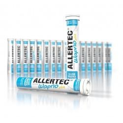 Allertec wapno plus tabletki musujace o smaku cytrynowym 20 sztuk