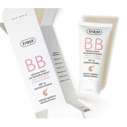 Ziaja BB aktywny krem na niedoskonałości  do skóry normalnej, suchej i wrażliwej odcień opalony brzoskwiniowy SPF 15 50 ml
