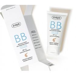 Ziaja BB aktywny krem na niedoskonałości  do skóry tłustej i mieszanej odcień opalony brzoskwiniowy SPF 15 50 ml