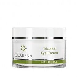 Clarena Atopic Line Tricelles Eye Cream Krem pod oczy z 3 rodzajami komórek macierzystych 15ml