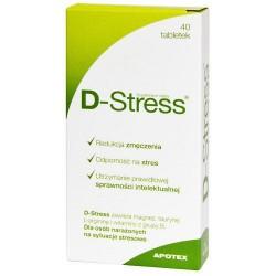 D-Stress tabletki 40 tabl.