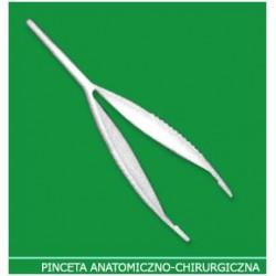 Pinceta anatomiczno-chirurgiczna 14 cm jednorazowa 1szt.