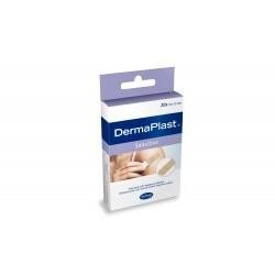 DermaPlast Sensitive plastry 19 x 72 mm 20 sztuk 1 op.