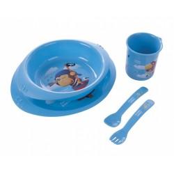 """Canpol  Plastikowy zestaw stołowy """"Piraci"""" 1szt."""