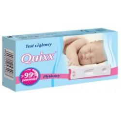 Quixx Duo test ciążowy płytkowy 1szt.