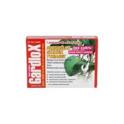 Gardlox pastylki ziołowe bez cukru o smaku wiśni i cytryny 16 sztuk