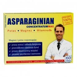 Asparaginian Concentratum Max tabletki 60 szt.