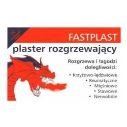 Fastplast plaster rozgrzewający 1 szt.