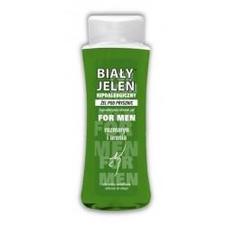 Biały Jeleń Hipoalergiczny żel pod prysznic FOR MEN z ekstraktem z rozmarynu i aronii  250ml