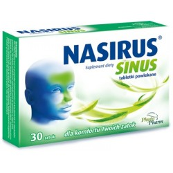 Nasirus forte tabletki powlekane 30tabl.