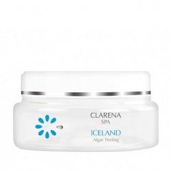 Clarena Domowe Spa Iceland Algae Peeling Solny peeling do ciała z algami 200ml
