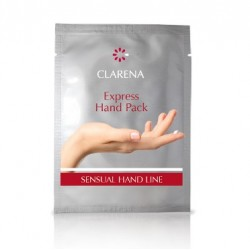 Clarena Portulacia Hand Express Hand Pack Ekspresowy zabieg regenerujący dłonie 1para