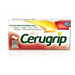 Cerugrip tabletki powlekane 20tabl.