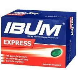 Ibum Express 400 mg kapsułki 24 kaps.