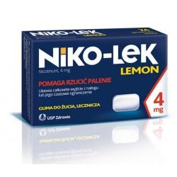 Niko-lek Lemon 4mg gumy do żucia 24szt.