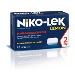 Niko-lek Lemon 2mg gumy do żucia 24szt.