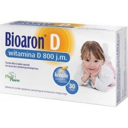Bioaron D witamina D3 800 j.m. kapsułki twist-off 30 kaps.