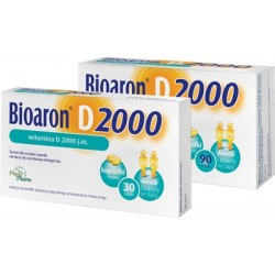 Bioaron D 2000 witamina D3 2000 j.m. kapsułki 30 kaps.