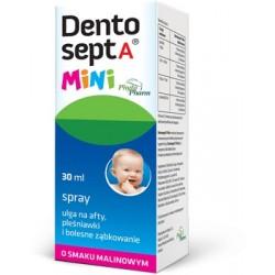 Dentosept A Mini spray o smaku malinowym 30ml