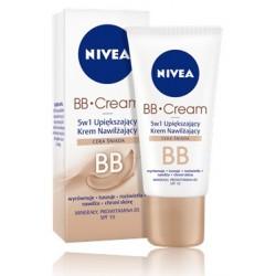 Nivea BB Cream 5 w 1 Upiększający Krem Nawilżający do cery śniadej 50 ml
