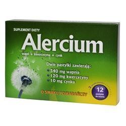 Alercium pastylki do ssania 12past.