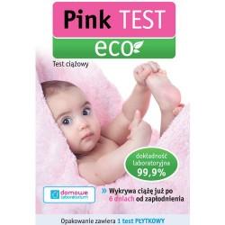Pink Test Eco ekologiczny test ciążowy płytkowy 1szt.