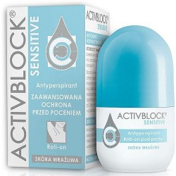 Activblock Sensitive Antyperspirant Roll-on skóra wrażliwa 25 ml