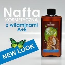 Nafta kosmetyczna z  vitaminami  A + E 150ml