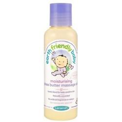 Lansinoh Earth Friendly Baby Naturalny bezzapachowy olejek do masażu z masłem Shea 125ml