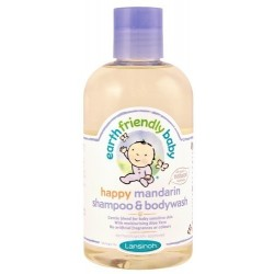 Lansinoh Earth Friendly Baby Organiczny szampon i płyn do mycia 2w1 z aromatem mandarynki 250ml