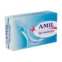 AMIL Test owulacyjny płytkowy 1op.