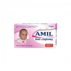 AMIL Test ciążowy płytkowy 1szt.