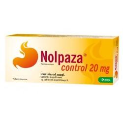 Nolpaza Control 20 mg tabletki dojelitowe 14 tabl.