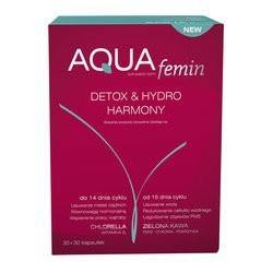 Aqua-Femin Detox & Hydro Harmony kapsułki 30szt + 30 szt