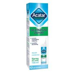 Acatar Hipertonic spray (Hipertonic spray ibuprom zatoki) 100 ml