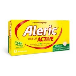 Aleric Deslo Active 5 mg 10 tabletk ulegających rozpadowi w jamie ustnej