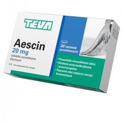 Aescin 30 tabletek powlekanych