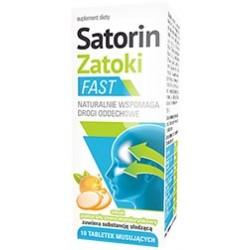 Satorin Zatoki Fast 10 tabletek musujących