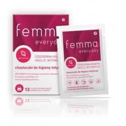 Femma Everyday chusteczki do higieny intymnej 12 sztuk