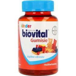 Kinder Biovital Gumisie  żelki 60 sztuk