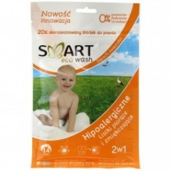 Smart Eco Wash hipoalergiczne listki piorące i zmiękczajace zapachowe 14 sztuk
