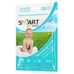 Smart Eco Wash hipoalergiczne listki piorące i zmiękczajace bezzapachowe 14 sztuk