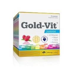 Gold-Vit Junior o smaku malinowym 15 saszetek