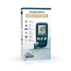 Diagnostic Gold System glukometr 1 op.