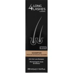 4 Long Lashes Men Szampon przeciw wypadaniu włosów 200 ml
