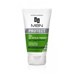 AA Men Protect żel do mycia twarzy antybakteryjny 150 ml