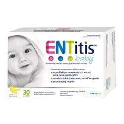 ENTitis saszetki smak bananowy  30 sasz.