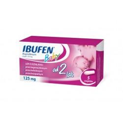 Ibufen Baby 125 mg czopki 5 czopków