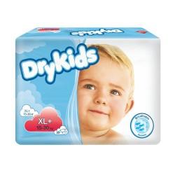 Dry Kids XL + (15-30 kg) pieluchy dla dzieci 5619 30 szt.